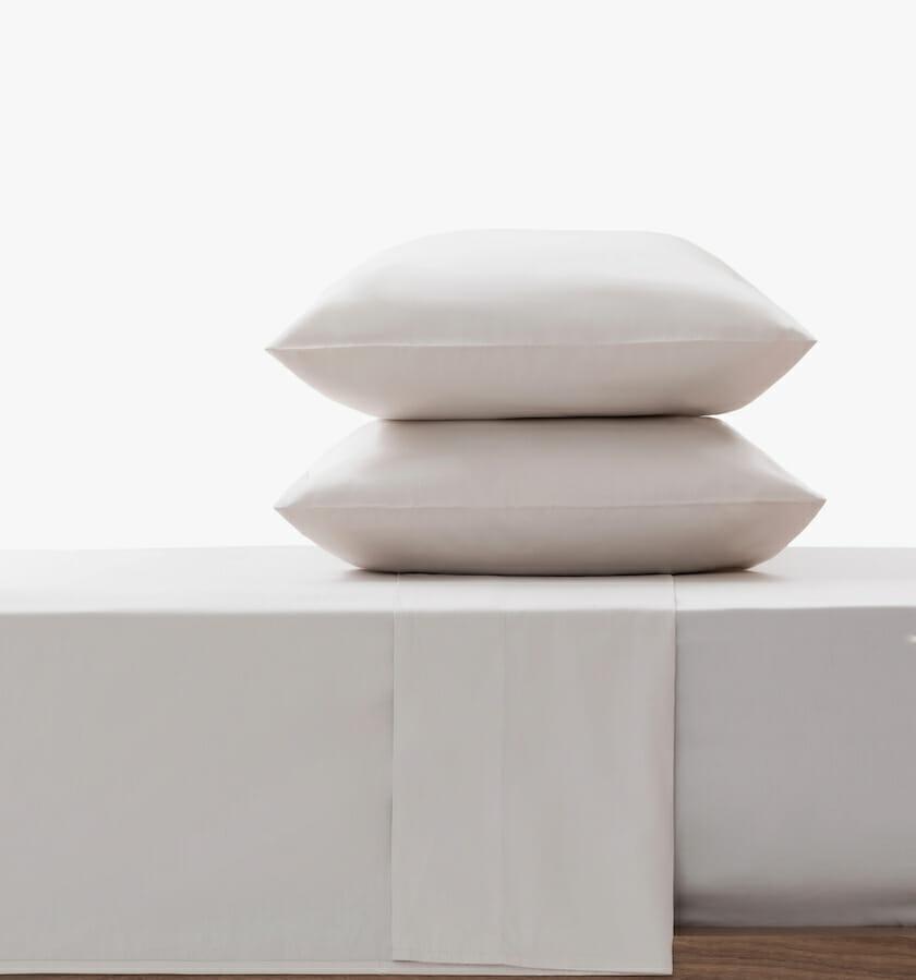 Cotton sateen flat sheed sand set
