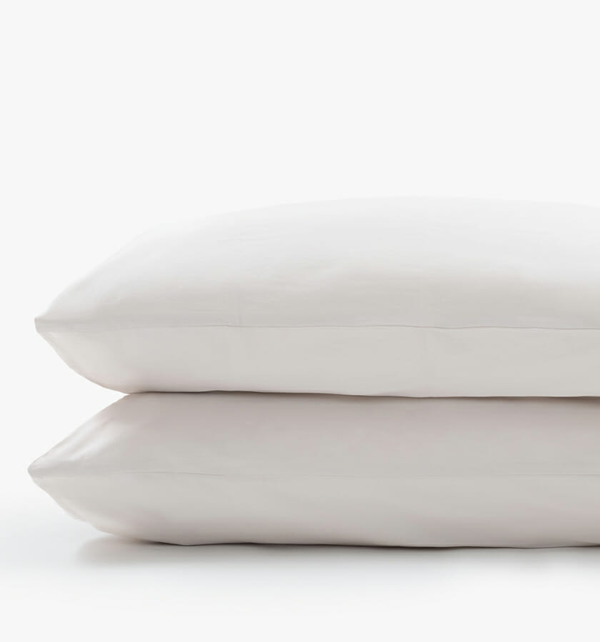 Cotton sateen sand pillowcases