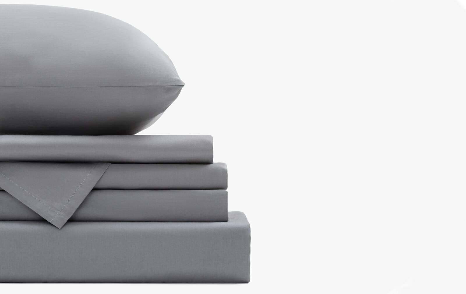 Cotton sateen stone set