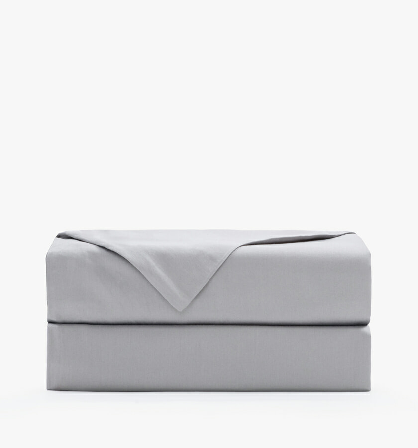 Cotton sateen stone flat sheet