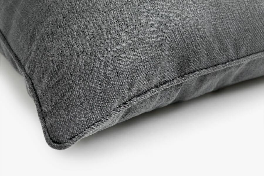 Eden fabril pillow - charcoal