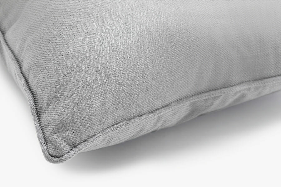 Eden fabril pillow - grey