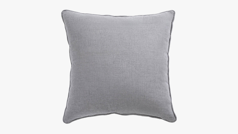 Eden fabric cushion - grey