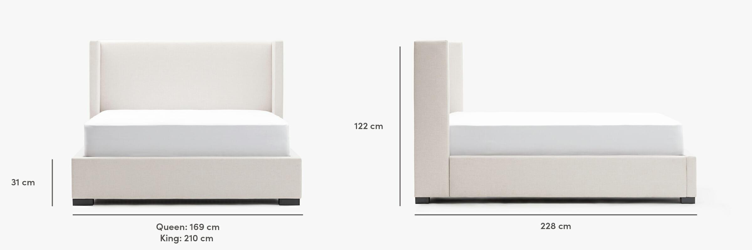 Osaka bed dimensions