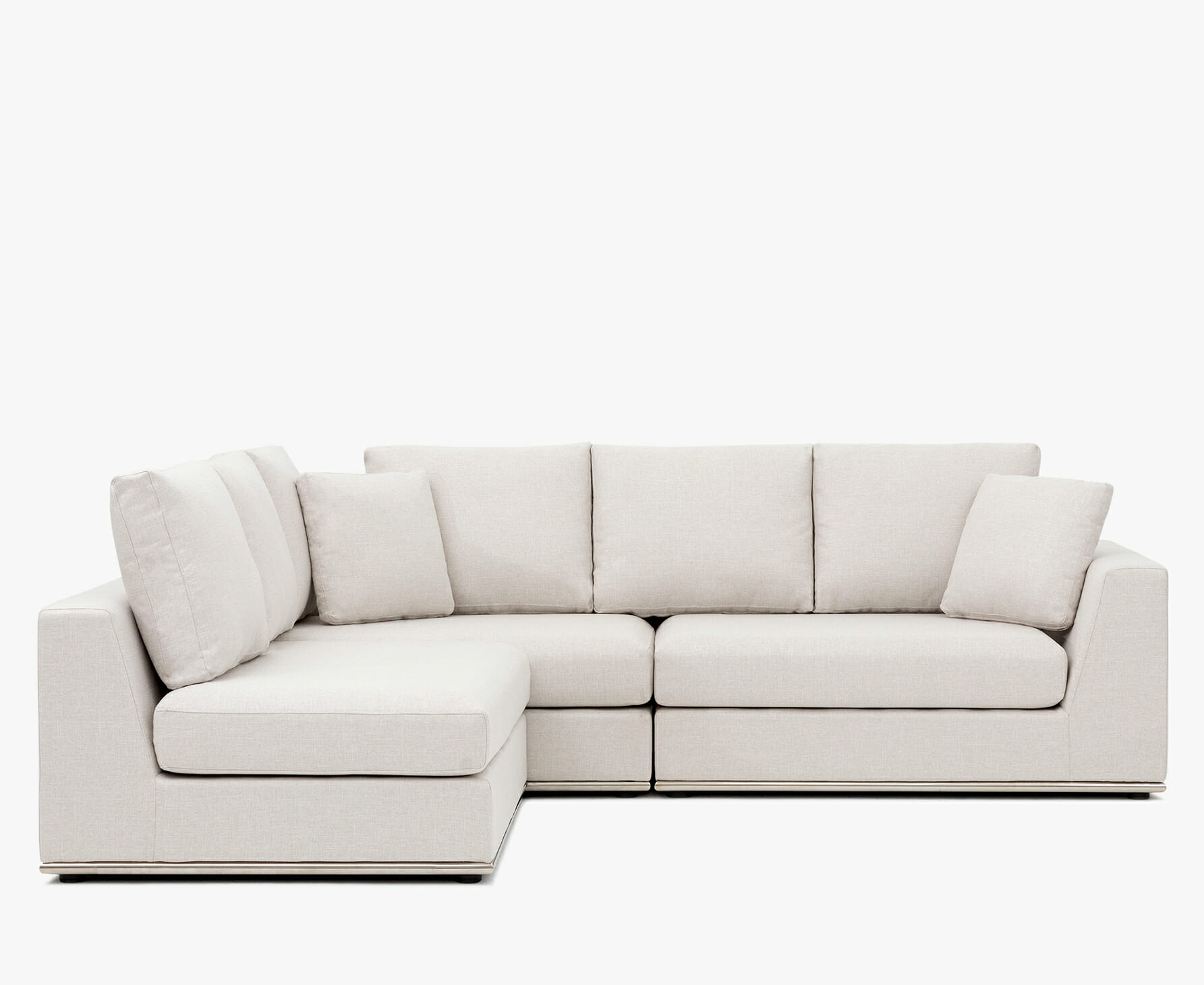 Flow sectional - cream
