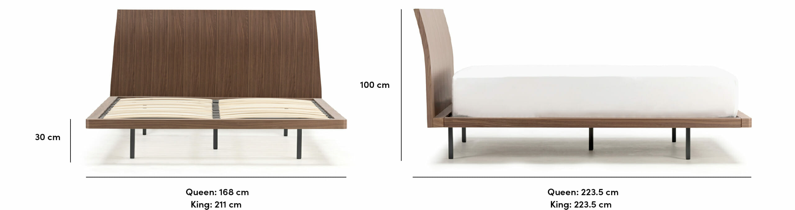 Sunset bed dimensions