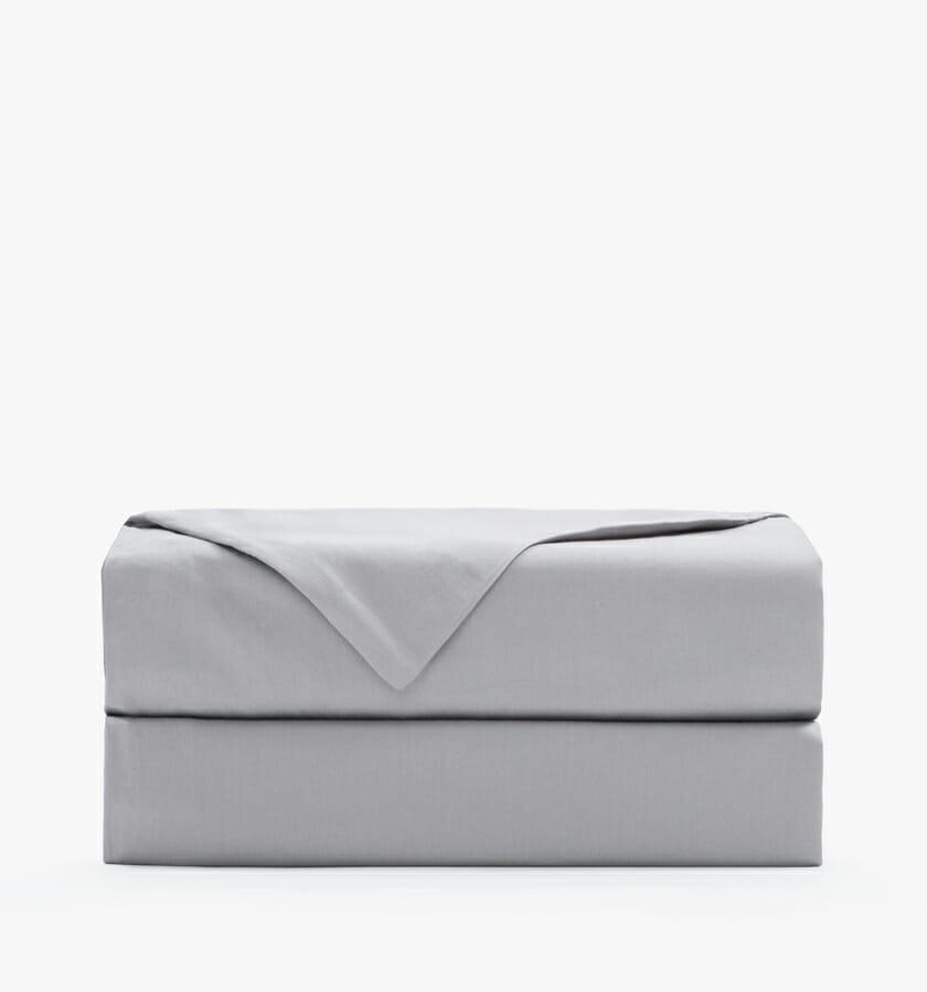 Cotton sateen stone flat sheet