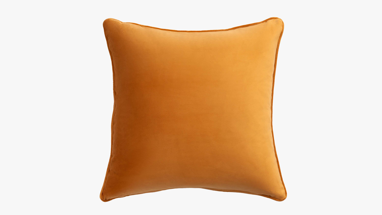 Eden velvet cushion - gold