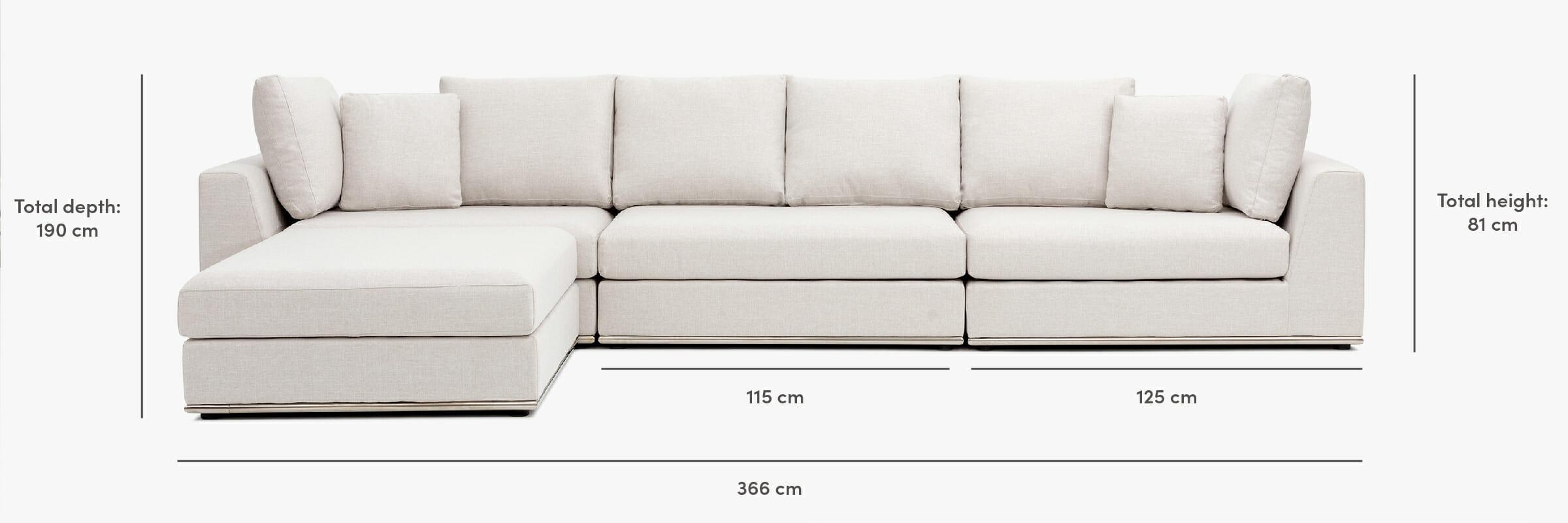 Flow XL dimensions
