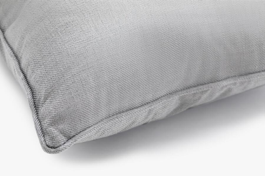 Coussin tissu eden - gris