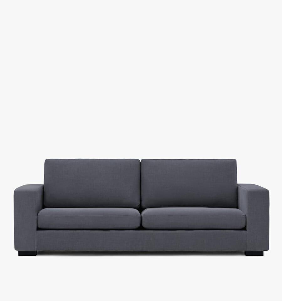 Canapé Malibu - gris foncé