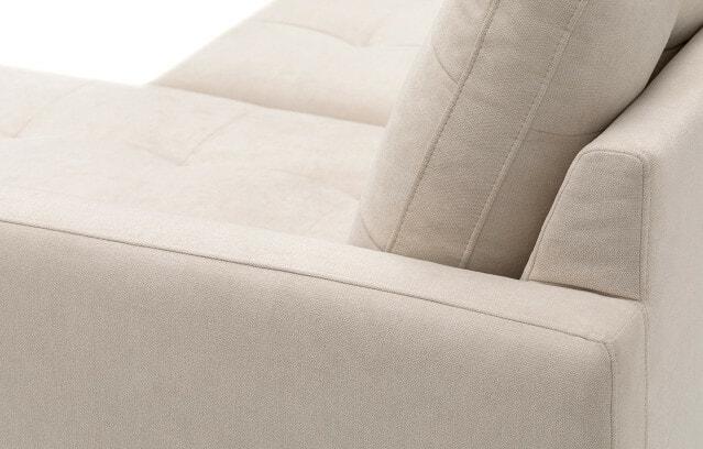 Madison sofa back view
