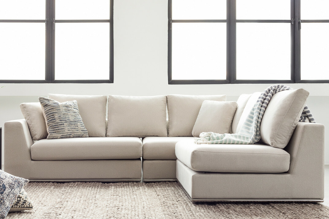 Flow sectional sofa