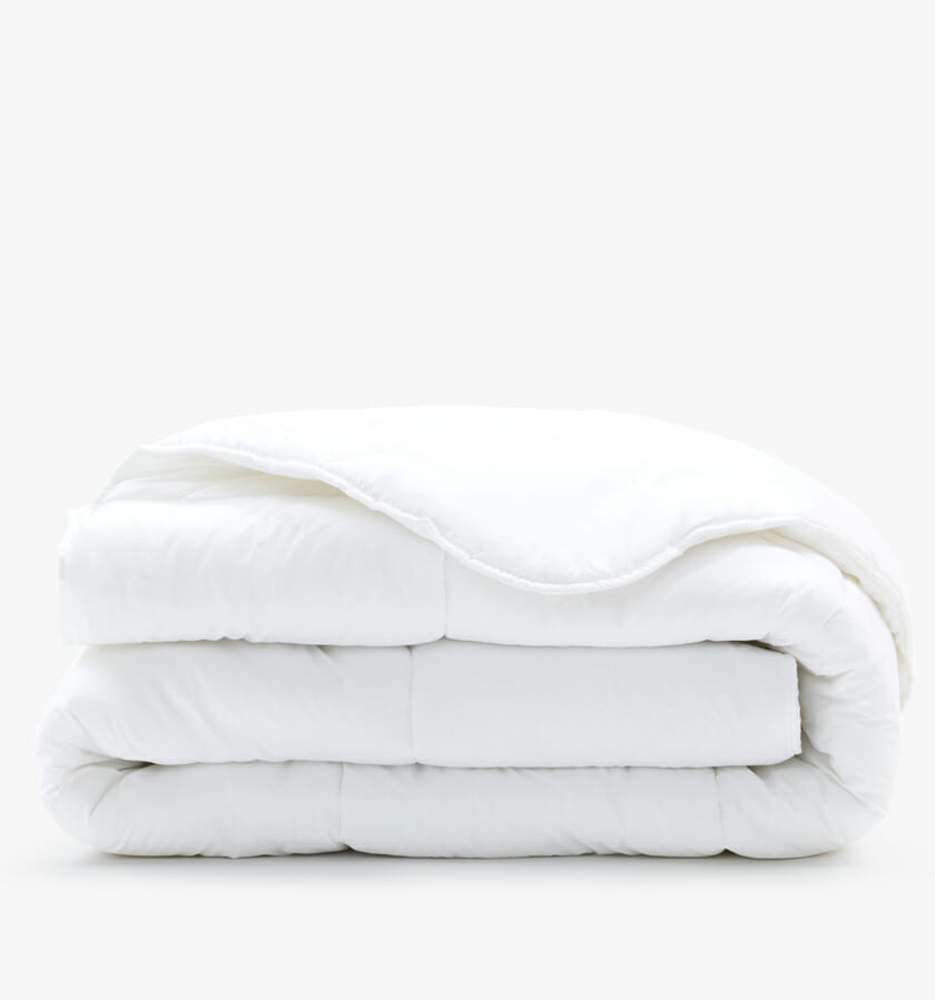 All seasons duvet cover - white