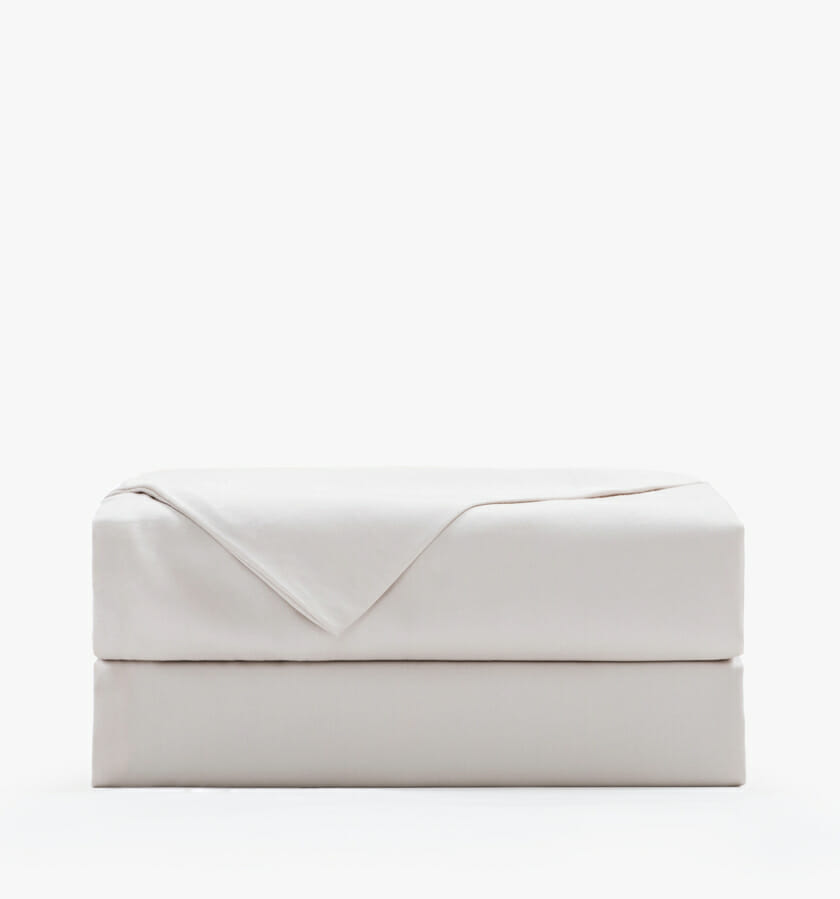 Cotton sateen sand flat sheet