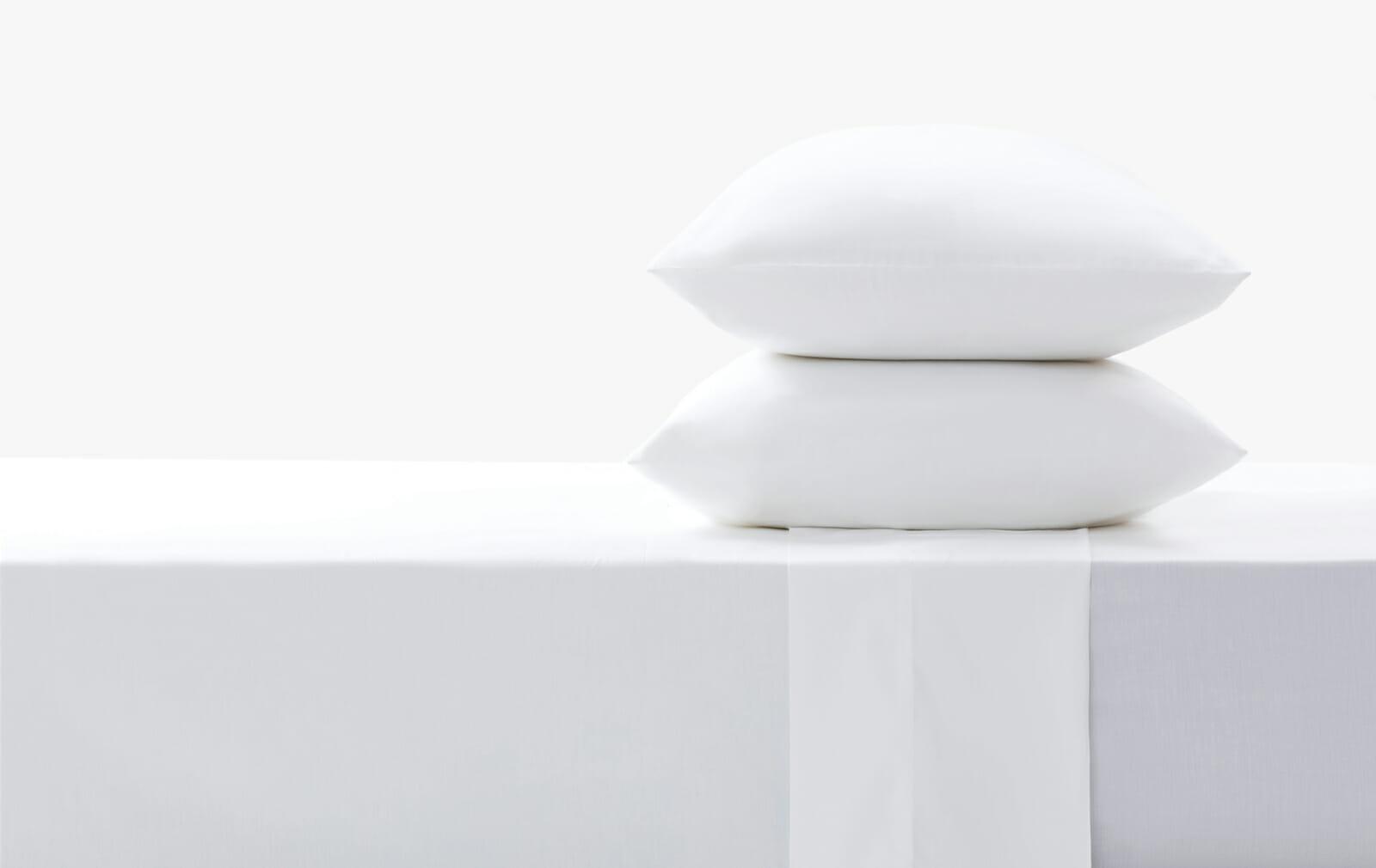 Cotton sateen white set