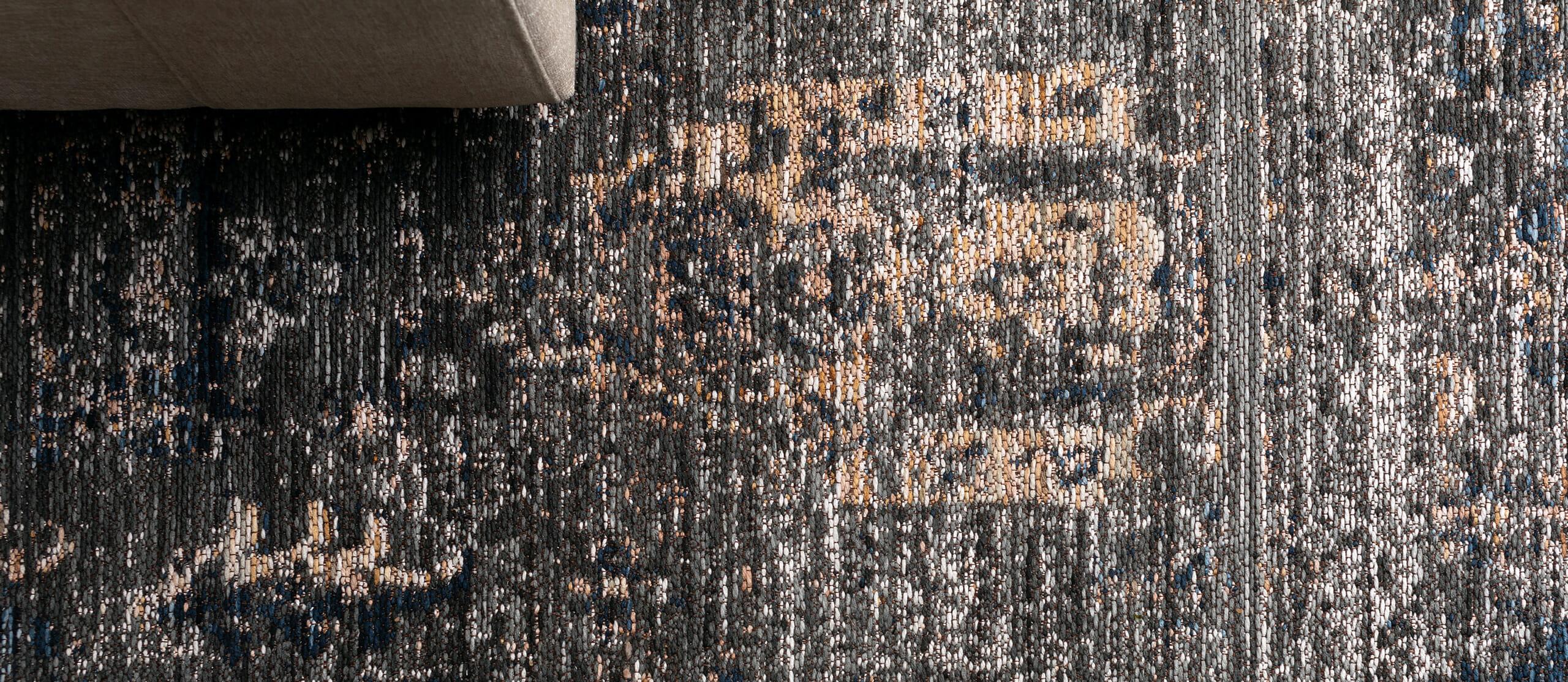 The Noa Siena rug - Blue