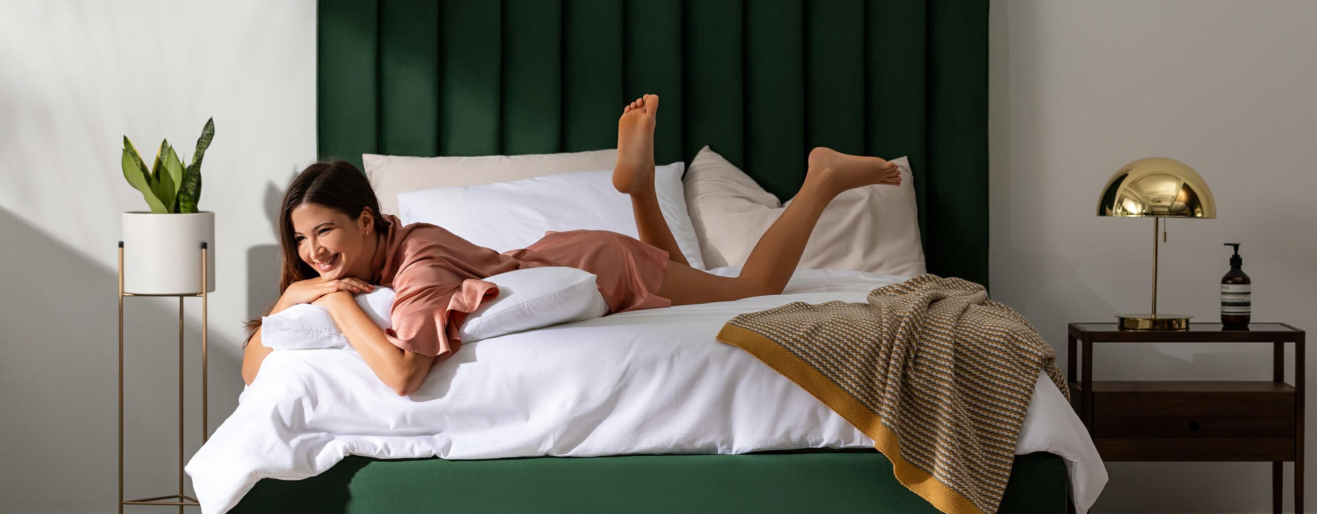 Parker bed - green
