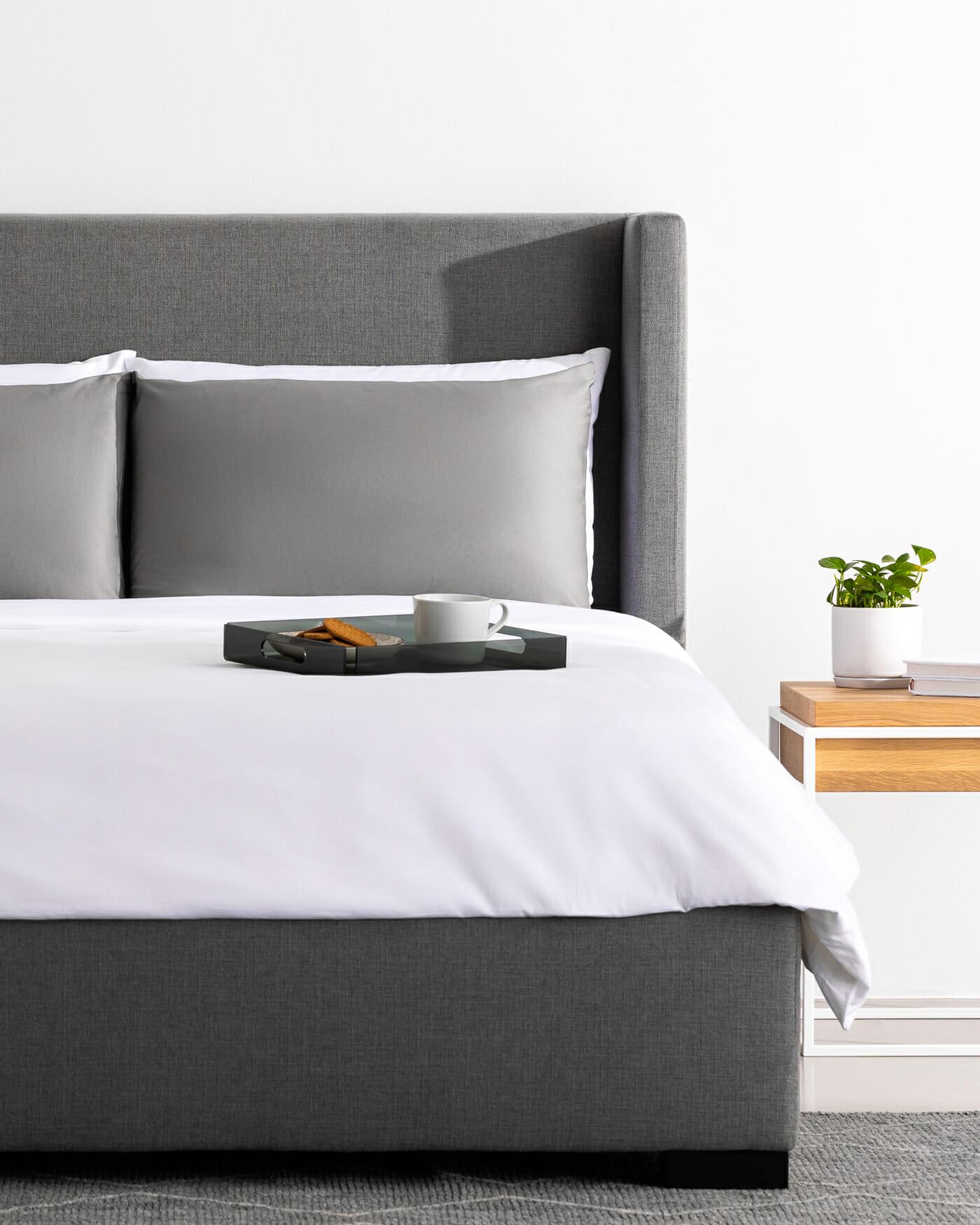 Osaka grey bed