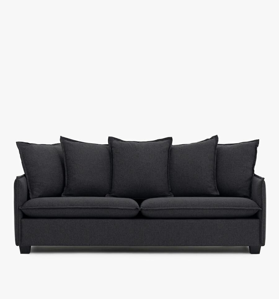 Malibu sofa - charcoal