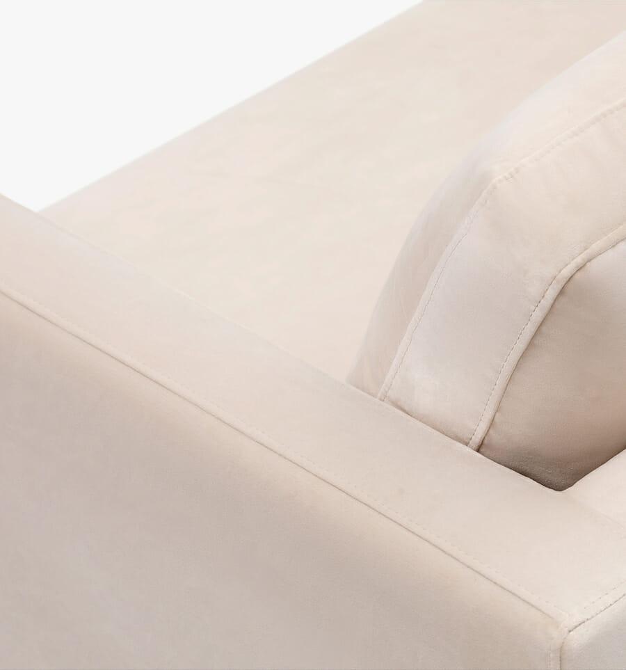 Monaco sofa - cream