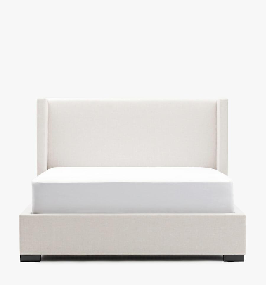 Modena bed - ivory