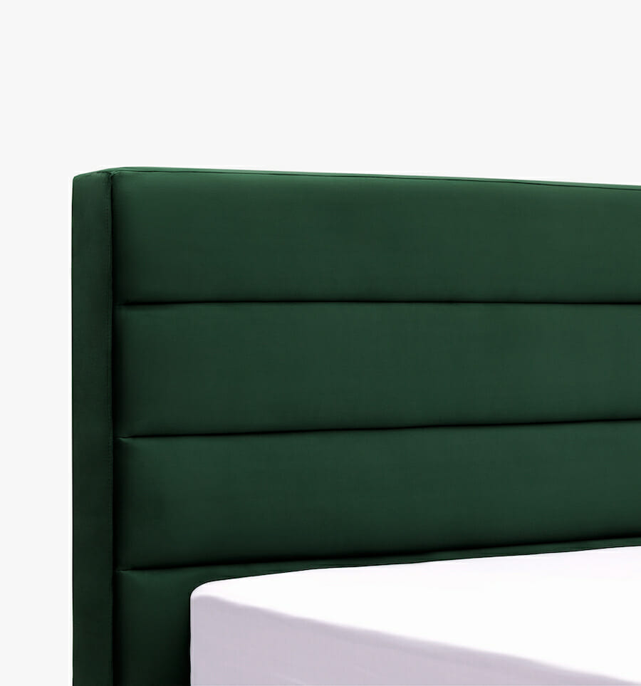 oxford bed - green