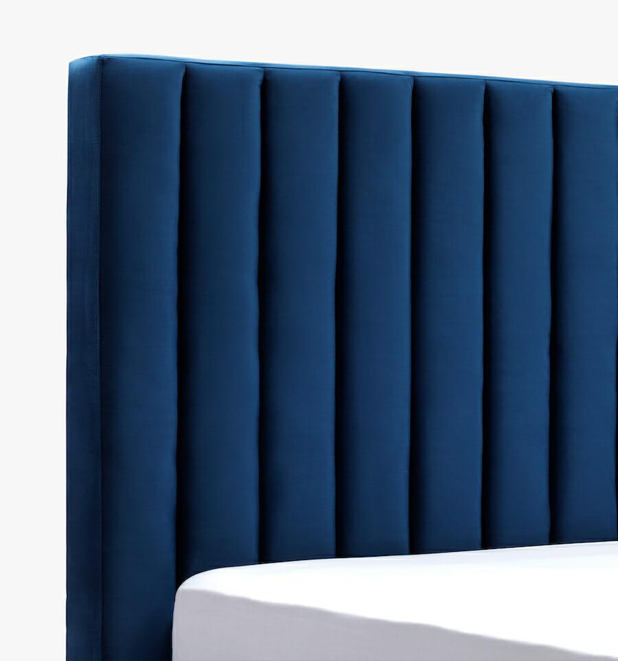 parker bed - blue