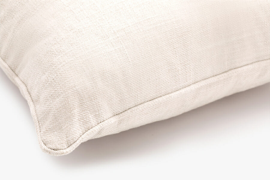 Fabric pillow - cream