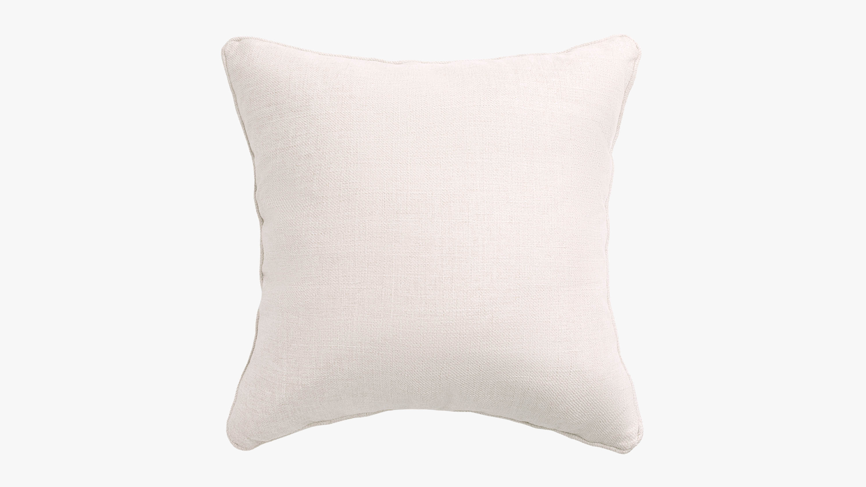 The eden fabric cushion - cream