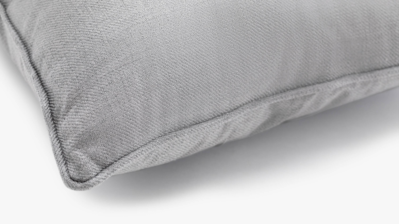 The eden fabric cushion - grey