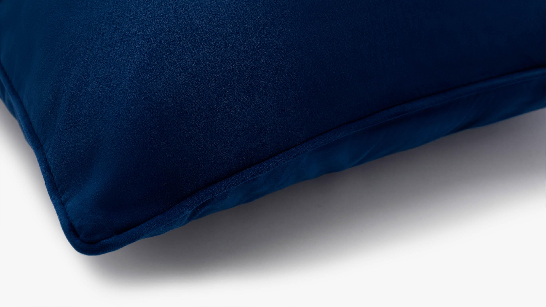 The Eden Velvet Cushion - blue