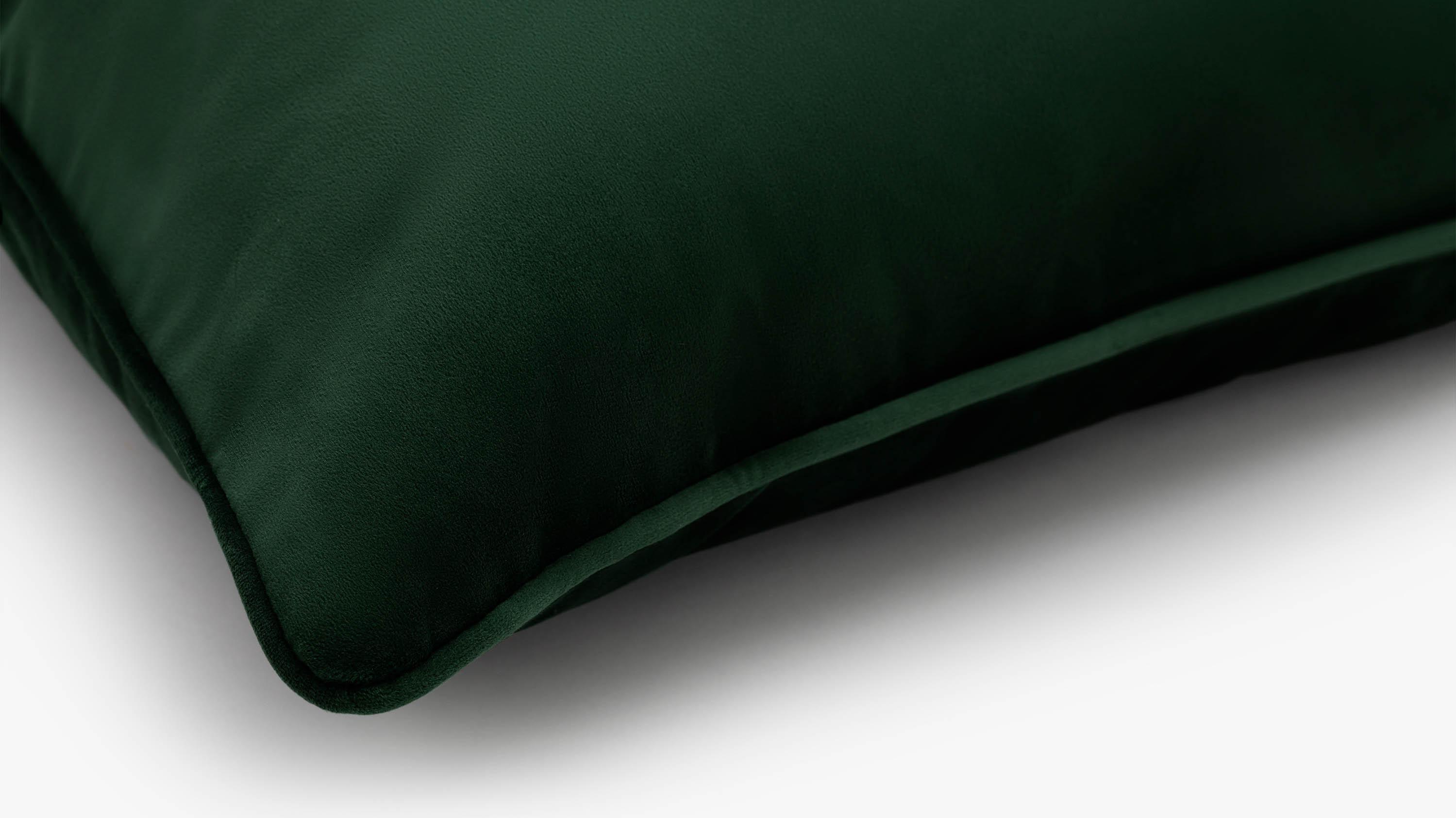 The Eden Velvet Cushion - green