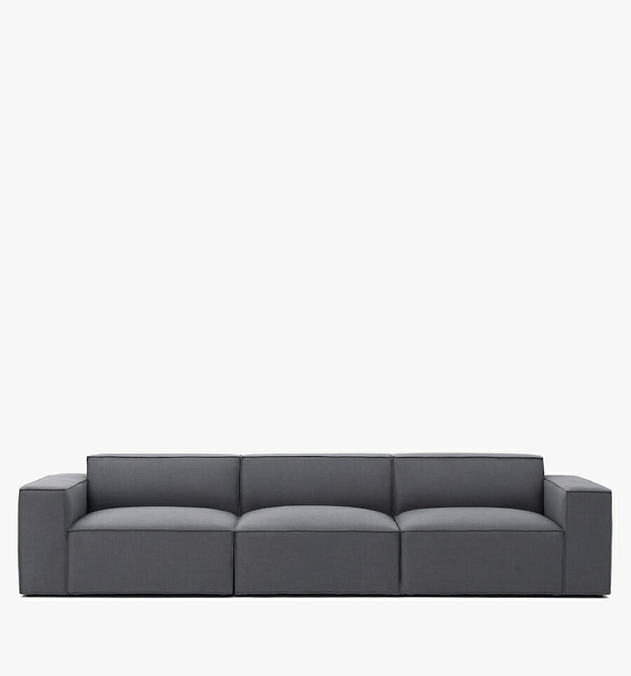 Pacific sofa - charcoal