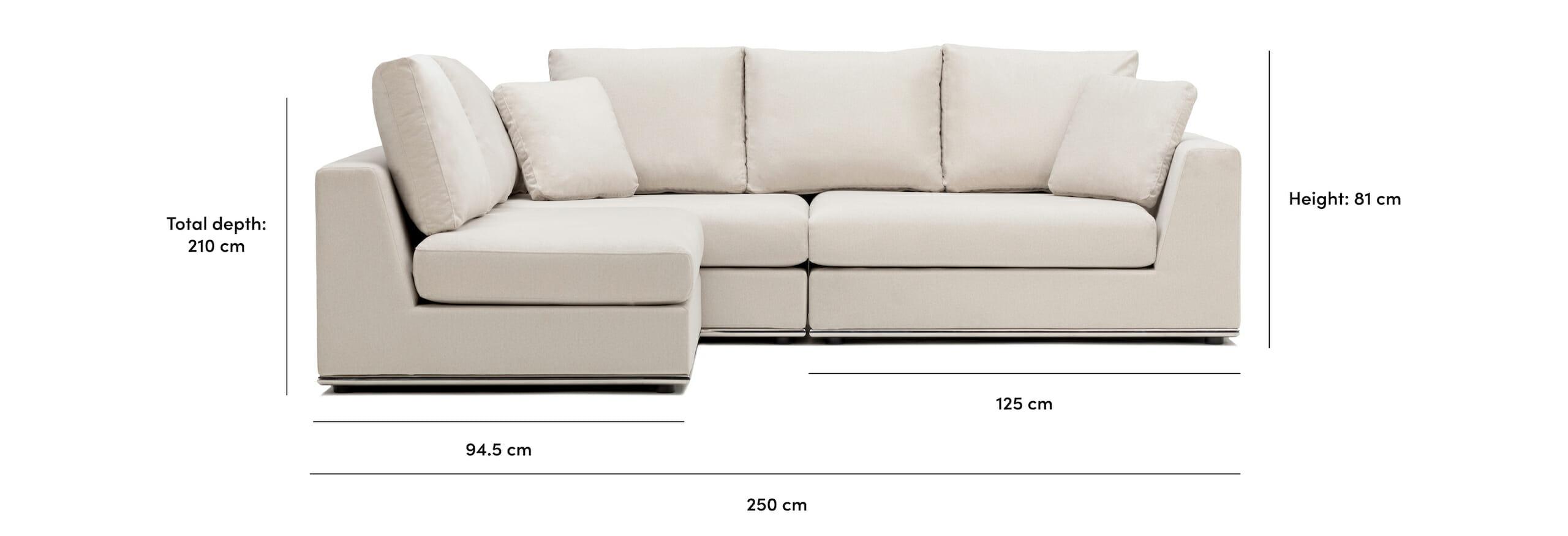 The Flow Sectional Sofa Noa Home
