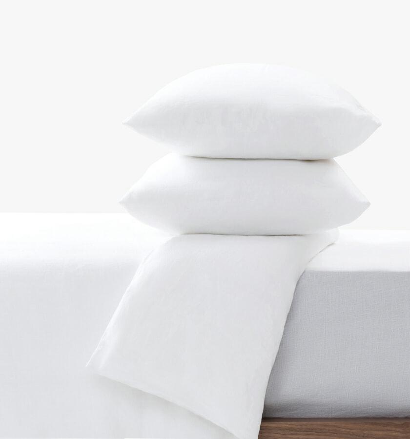 Linen set white