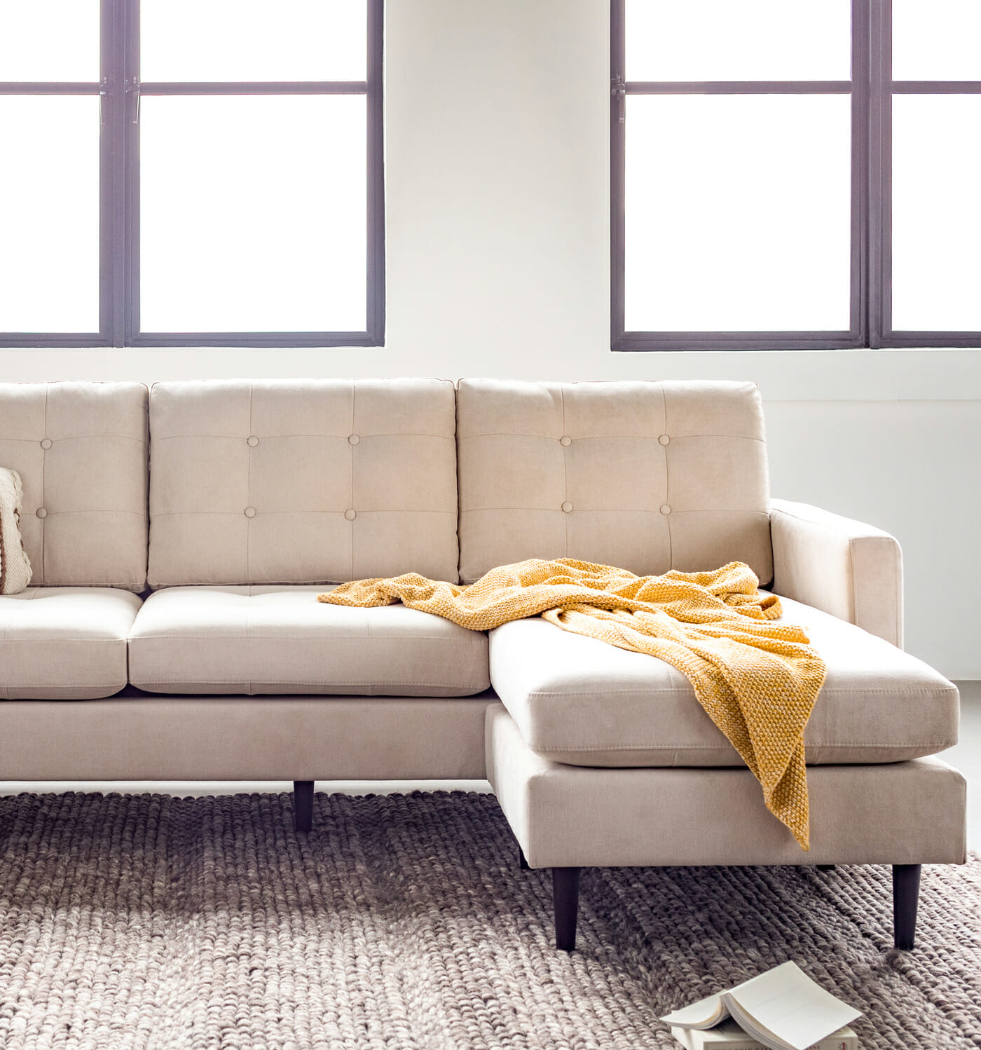 Madison sectional - Cream