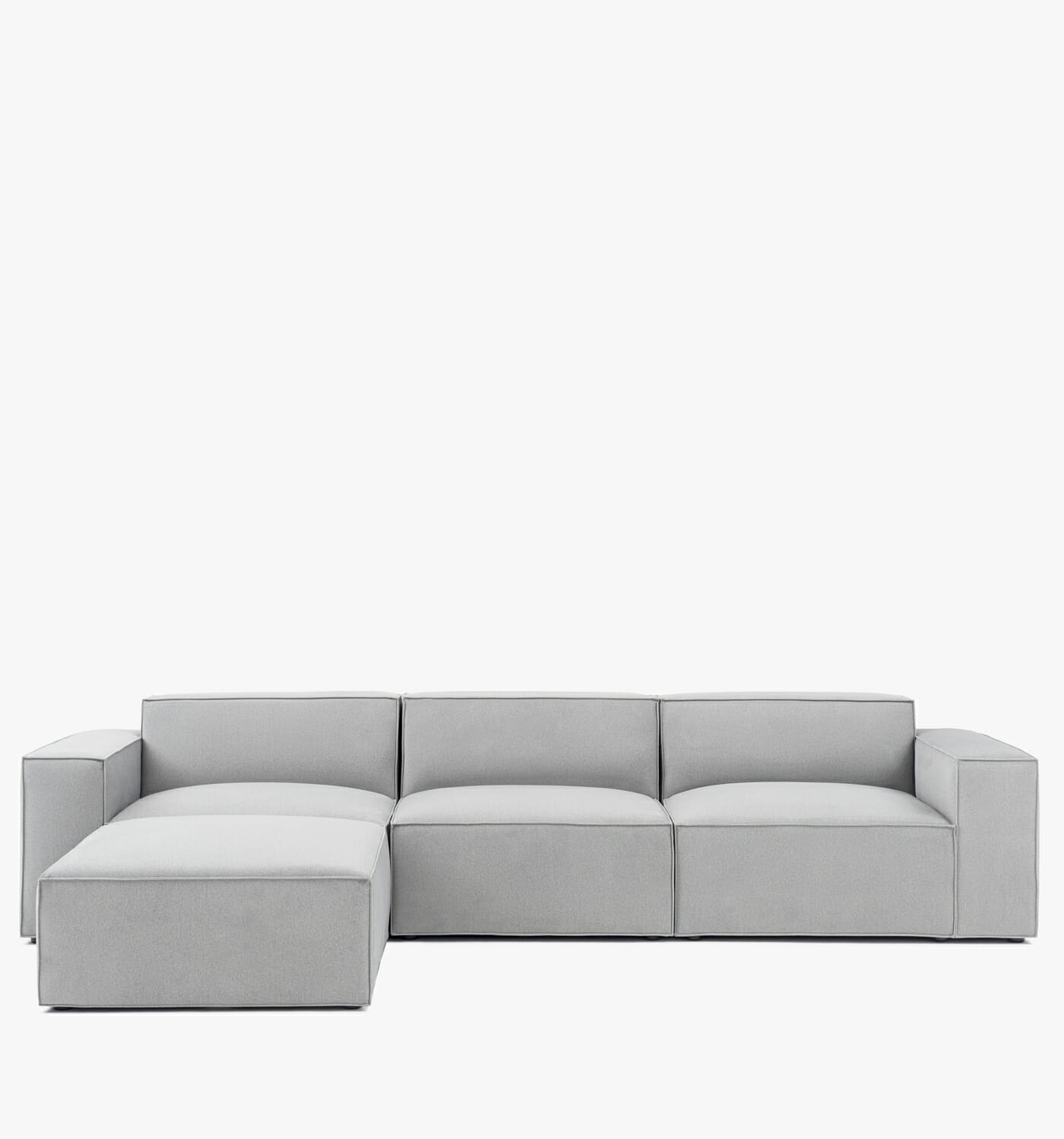 Pacific sectional - Grey