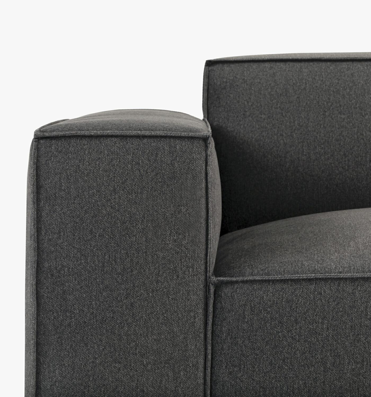 Pacific modular sofa - charcoal