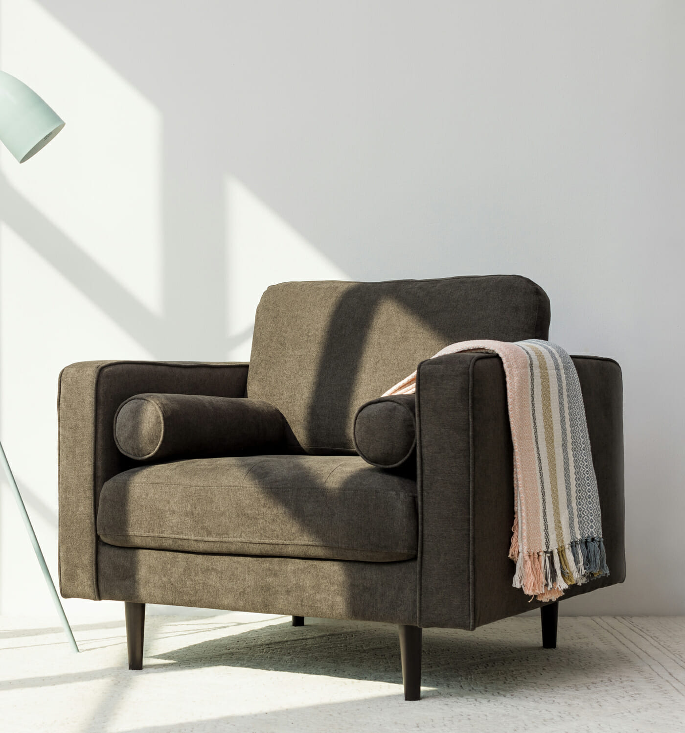 Soho armchair - Charcoal