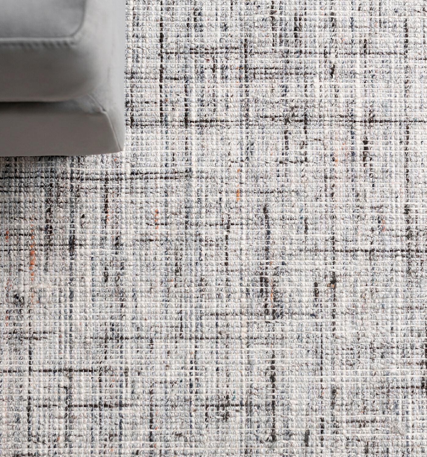 The Noa Maya rug - silver