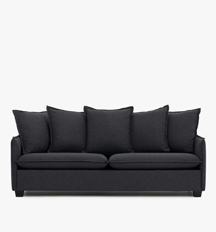 Miami sofa - charcoal
