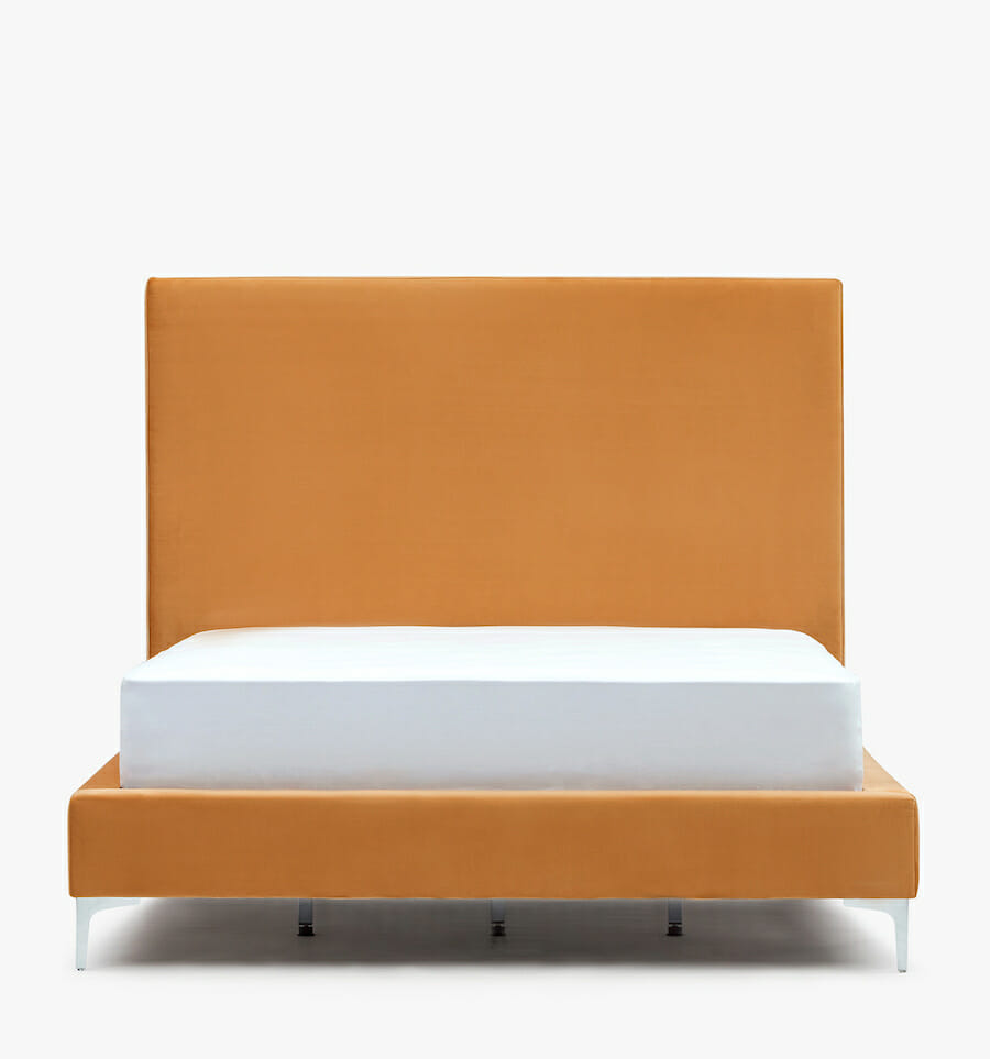 Modena bed - gold