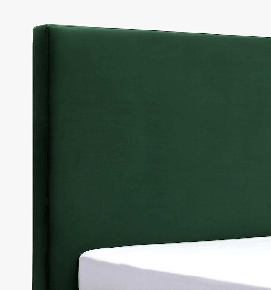 Modena bed - green