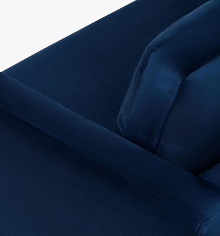 Monaco sofa - blue