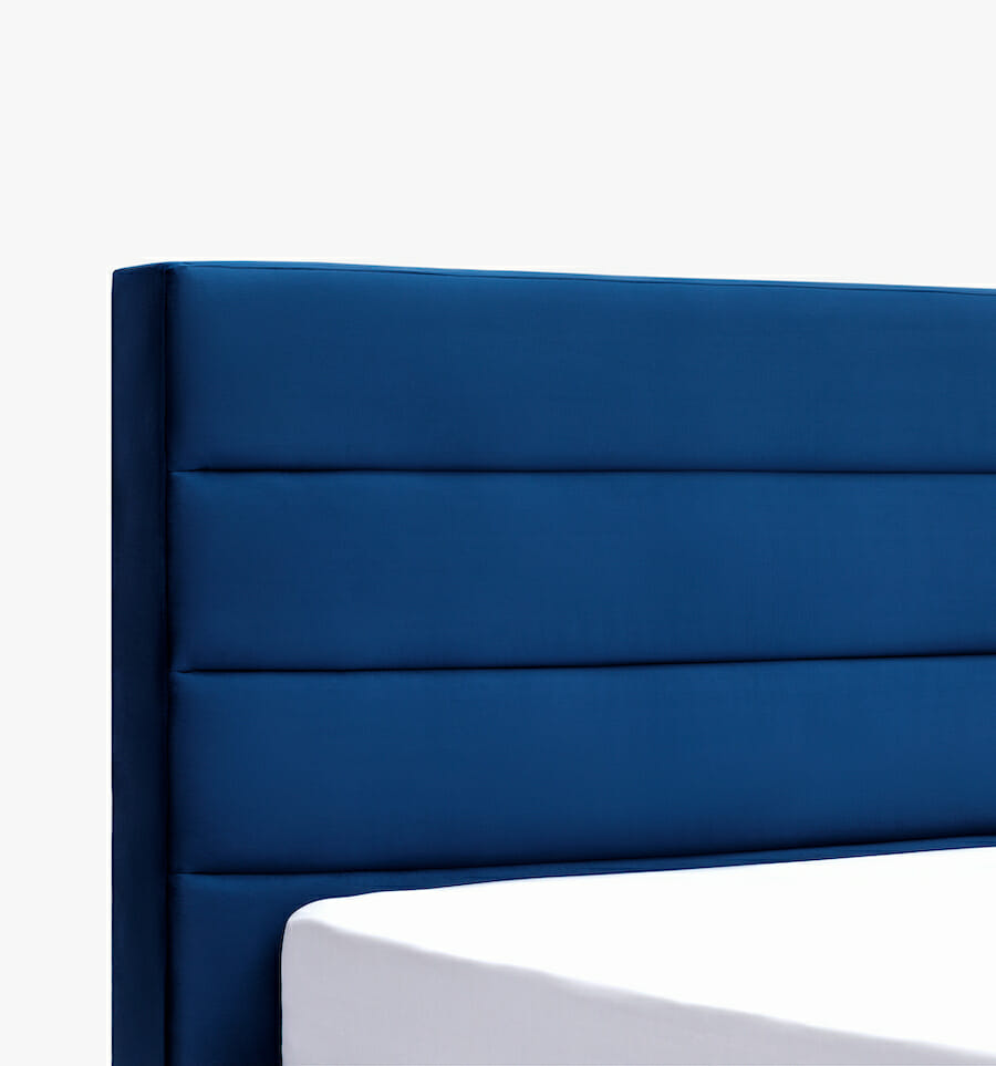Oxford bed - blue