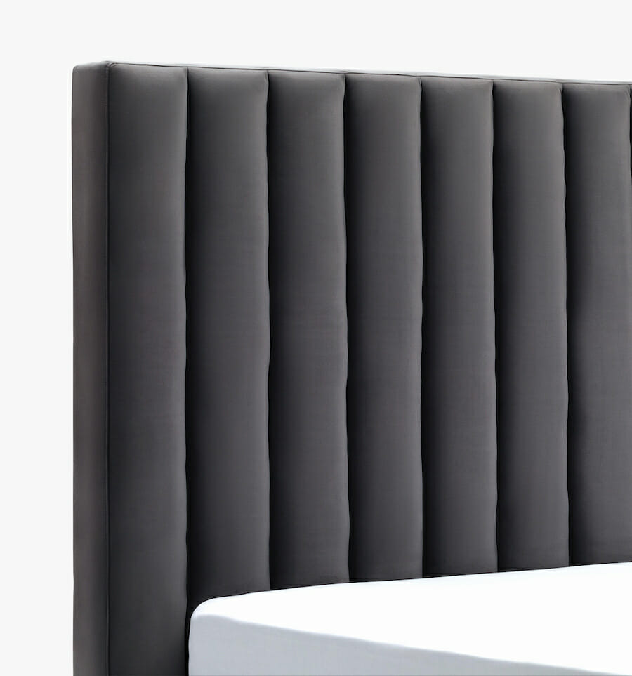 Oxford bed - slate