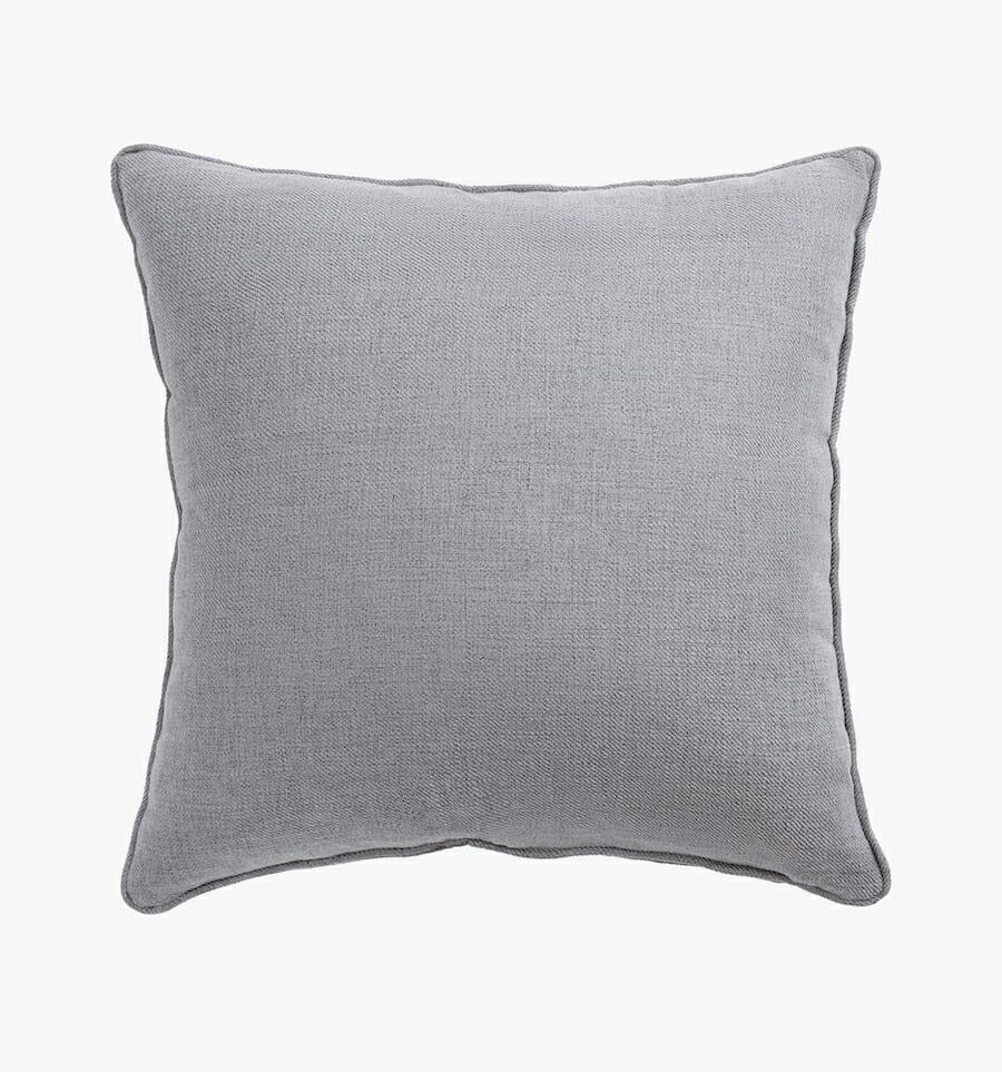 Eden fabric pillow - grey