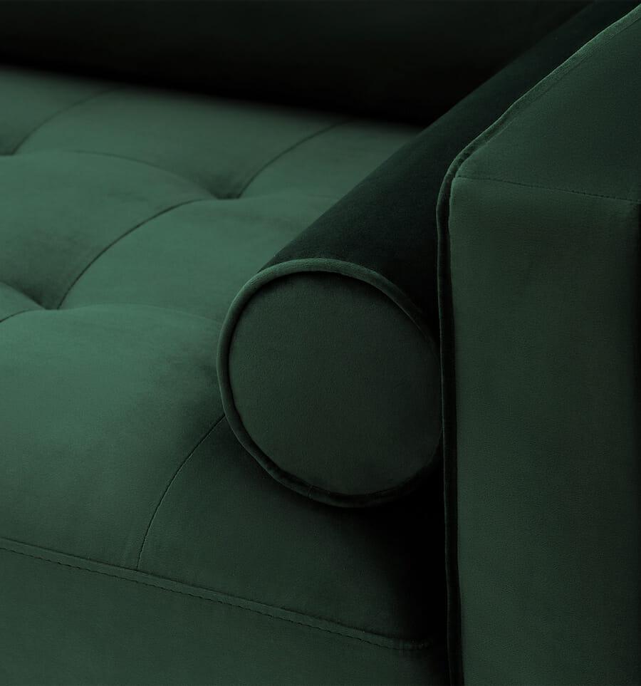 Soho armchair - green