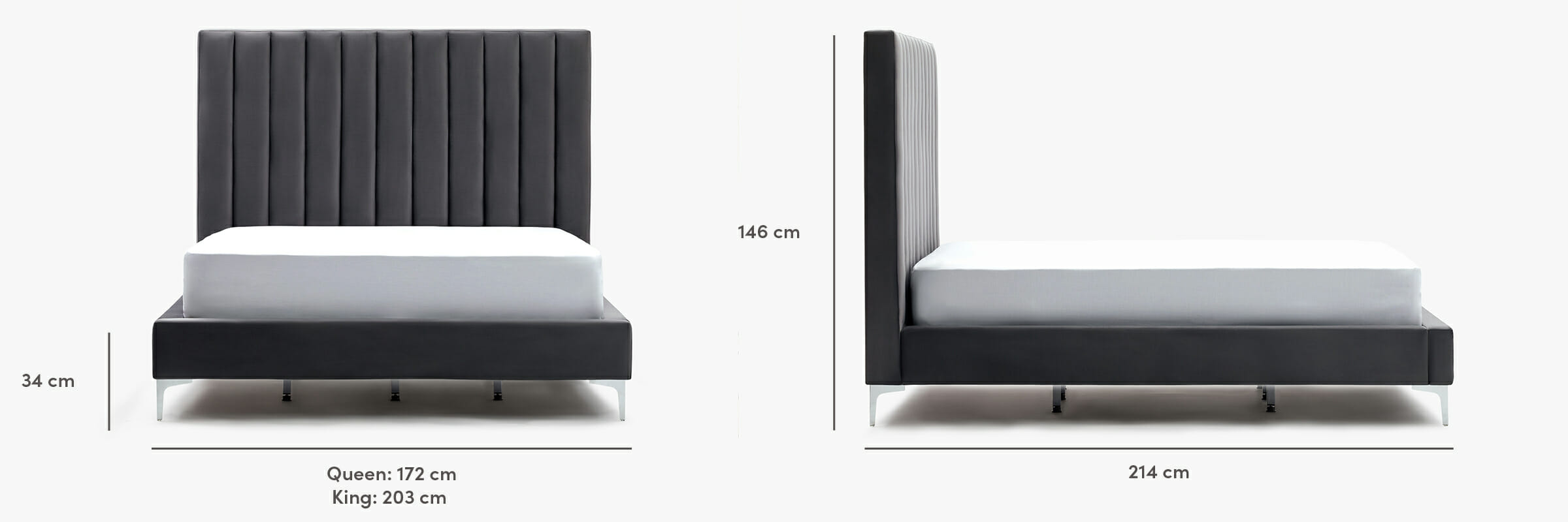Parker bed dimensions